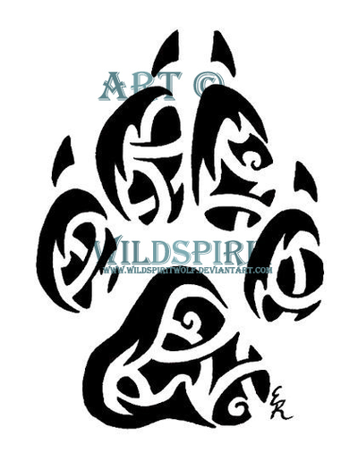 Celtic Tribal Coyote Print by WildSpiritWolf on DeviantArt
