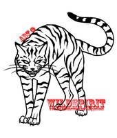 Realistic Cheshire Cat Tattoo by WildSpiritWolf