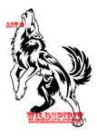 Howling Wolf w. Phoenix Tattoo