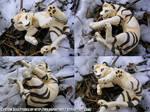 Fienese Tiger Sculpture