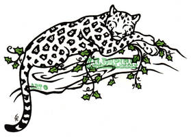 Jaguar And Ivy Tattoo by WildSpiritWolf