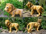 Kai Lion Sculpture
