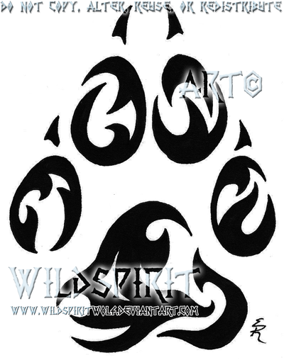 The gallery for --> Tribal Paw