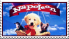 Napoleon Puppy Stamp by WildSpiritWolf