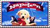 Napoleon Puppy Stamp by WildSpiritWolf