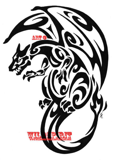 Bilder of Cherry Tree Tattoos · tribal tatoo bilder · Lone Wolf Tattoo