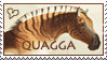 Quagga Heart Stamp by WildSpiritWolf