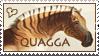 Quagga Heart Stamp by WildSpiritWolf