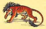 Fierce Dark Tiger Picture