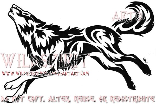 4086229c4 Phoenix Wolf Color Tattoo By Wildspiritwolf Deviantart – Dibujos ...