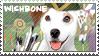 Wishbone Robin Hood Stamp by WildSpiritWolf
