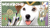 Wishbone Robin Hood Stamp by WildSpiritWolf