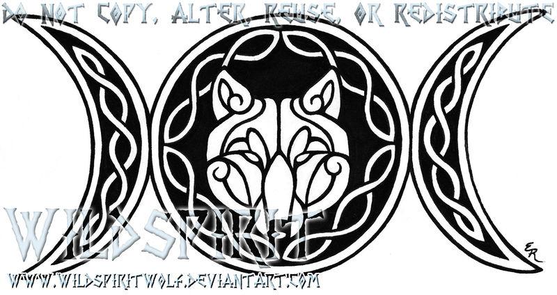 867f226af Wolven Triple Goddess Tattoo by WildSpiritWolf on DeviantArt