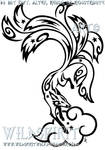 Starry Nine Tailed Fox Tattoo