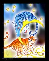 Celestial Tigers - Copic