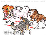 Think Twice Wolf Fight Commish