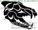 Tribal Skull Set - Wolf