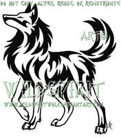 Proud Strong Wolf Tattoo by WildSpiritWolf