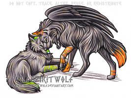 Kris And Irvine Wolf Lovers by WildSpiritWolf