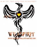 Phoenix And Heart Tattoo