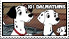 101 Dalmatians Parents Stamp by WildSpiritWolf