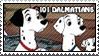 101 Dalmatians Parents Stamp by WildSpiritWolf