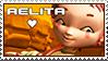 Code Lyoko - Aelita Stamp by WildSpiritWolf