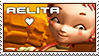 Code Lyoko - Aelita Stamp by WildSpiritWolf