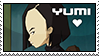 Code Lyoko - Yumi Stamp by WildSpiritWolf