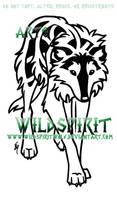 Deerhound Knotwork Tattoo by WildSpiritWolf