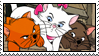 Aristocats Kittens Stamp by WildSpiritWolf