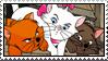 Aristocats Kittens Stamp by WildSpiritWolf