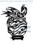 Dragon And Crystal Ball Tattoo
