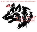 Aggressive Wolf Head Tribal