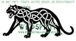 Roaring Celtic Panther Logo