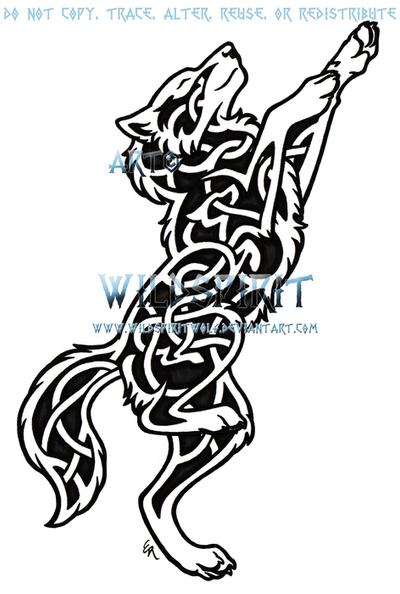 Finneren av Måten, Mysteriet av Algoritmeen Knotwork_dancing_wolf_tattoo_by_wildspiritwolf-d37q8gs