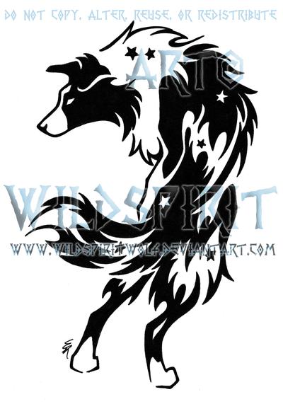 39 krys 39 border collie tattoo by wildspiritwolf on deviantart. Black Bedroom Furniture Sets. Home Design Ideas