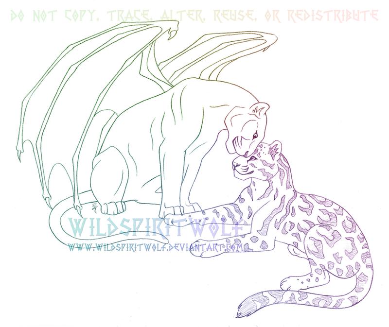 Panther Sketch Image Mag : pantherandleopardsketchbywildspiritwolf d3bwxb7 from imagemag.ru size 800 x 673 png 298kB