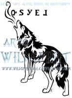 Howling Hope Tattoo - Cherokee by WildSpiritWolf