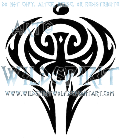 Tribal Insignia Tattoo by WildSpiritWolf