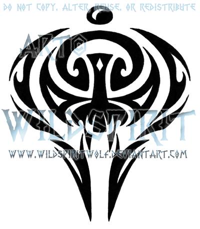 Tribal Insignia Tattoo by WildSpiritWolf