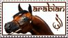Arabian Horse Stamp by WildSpiritWolf
