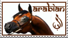 Arabian Horse Stamp by WildSpiritWolf
