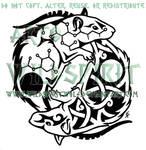 Yin Yang Rats Tattoo