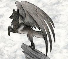 Hakurou In Ash by WildSpiritWolf