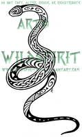 Maori Celtic Snake Tattoo