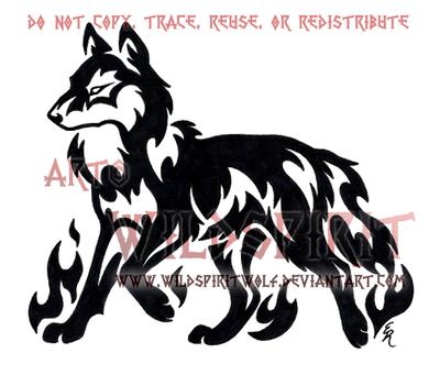 Hiwatari Kennel Logo by WildSpiritWolf