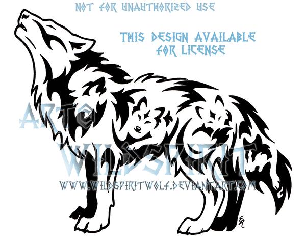 dcd0ca3b Voices Within Emotion Wolf Tribal Design by WildSpiritWolf on DeviantArt