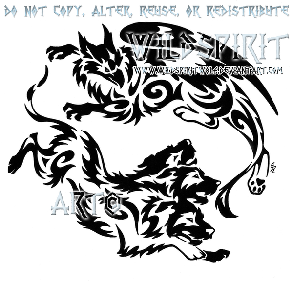gryphon and cerberus tribal design by wildspiritwolf on deviantart. Black Bedroom Furniture Sets. Home Design Ideas