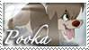 Anastasia - Pooka the Puppy Stamp by WildSpiritWolf